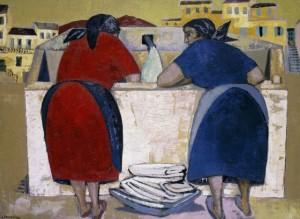 Italian Washerwomen by Gerald Dillon